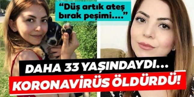 Son dakika haberi: 33 yaşındaki Dilek Tahtalı'dan acı haber geldi! Corona virüs yüzünden yaşamını yitirdi…