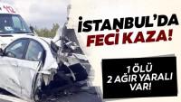 Son dakika: İstanbul'da TEM'de feci kaza!
