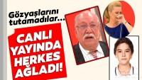 Rahmi Özkan canlı yayında gözyaşlarına boğuldu