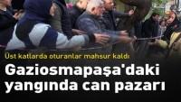 İstanbul'da yangında mahsur kalanlar kurtarıldı