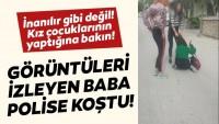 kız çocukları çete kurdu, kan donduran görüntüler ortaya çıktı …