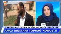 Amca Mustafa Topdağ konuştu