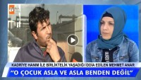 Şüpheli görülen Kadriye Hanım ile birliktelik yaşadığı iddia edilen Mehmet Anar konuştu!