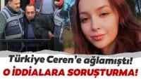 Son dakika: Ceren Özdemir cinayetinde 'ihmal' soruşturması!