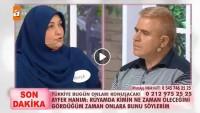 Kocası Şaban'ın ne zaman öleceğini söyleyen Ayfer Hanım canlı yayında!