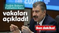 Son dakika: Sağlık Bakanı Fahrettin Koca koronavirüs vaka sayısını açıkladı.