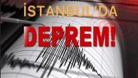 İstanbul'da hissedilen deprem meydana geldi…
