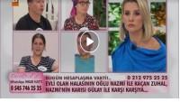 Nazmi ile kaçan Zuhal, Nazmi'nin karısı Gülay ile karşı karşıya…