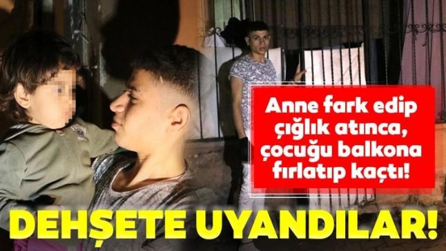 İzmir'de dehşet! Annesini yanında uyuyan çocuğu kaçırmaya çalıştılar