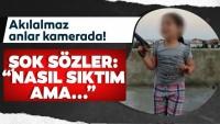 Skandal görüntü … 6 yaşındaki çocuğa silahla ateş ettirdiler!