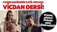 Bankacı eşini 20 aylık kızının yanında öldürmüştü…