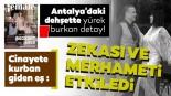 Türkiye Antalya'daki dehşeti konuşuyor! Gamze Kaçar Bozkurt eşi doktor Kaan Bozkurt'tan böyle bahsetmiş..