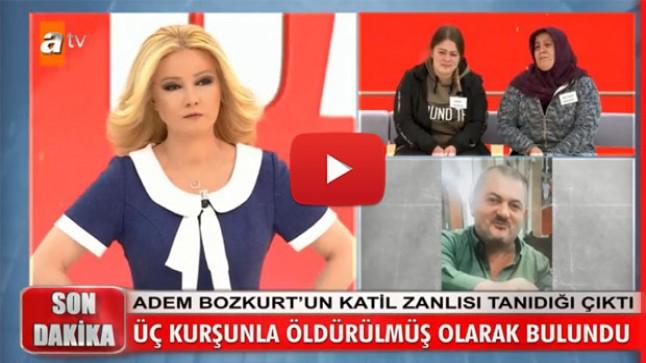 Adem Bozkurt üç kurşunla öldürülmüş olarak bulundu