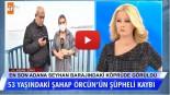 53 yaşındaki Şahap Örcün'ün şüpheli kaybı