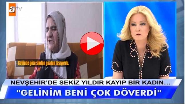 Nevşehir'de sekiz yıldır kayıp bir kadın…