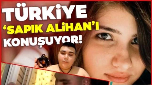 'Sapık Alihan' Özgecan Aslan ile Atatürk'e hakaret etti! Türk bayrağını yırttı!