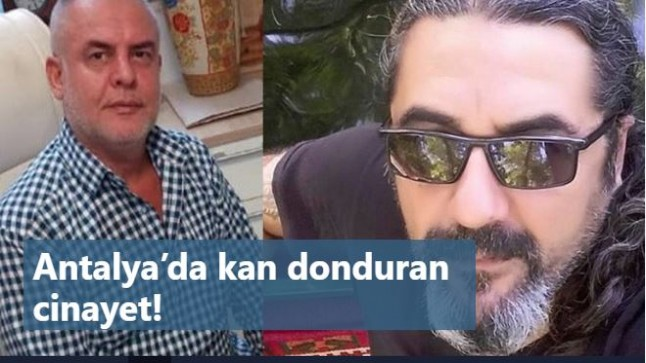 Antalya'da kan donduran cinayet! Her satırı korkunç: Öldürüp…