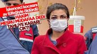 Antalya'da işkenceci eşini öldüren Melek İpek serbest bırakıldı