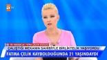 Kayıp olan Fatma Çelik'in sevgilisi canlı yayında..