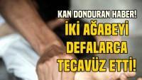 Zonguldak'ta ağabeyleri tecavüz etti karnını kesmeye çalıştı