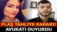 Aleyna Çakır'ın ölümünün baş şüphelisi Ümitcan Uygun tahliye edildi