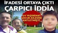 Ordu'da 14 yaşındaki çocuk ailesini katletmişti! Emniyetteki ifadesi ortaya çıktı