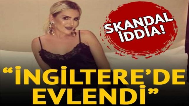 "Skandal iddia: ""Selin Ciğerci, İngiltere'de evlendi"""
