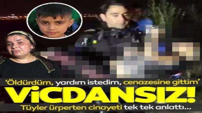 9 yaşındaki çocuğun katili itiraf etti: Öldürdüm, yardım istedim, cenazesine gittim!
